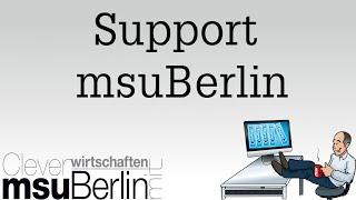 msuSupport - Mac - PC - Wartung und Pflege Ihrer Datendatei
