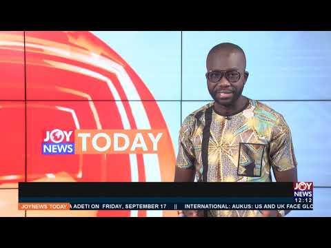 Joy News Today (17-9-21)