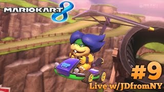 """""""Ludwig's First Day On The Job""""   Mario Kart 8 Live #9   MK8 Multiplayer Gameplay"""