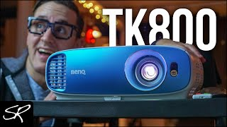 BenQ TK800 4K HDR Projector Review | ULTIMATE Home Theater Projector | Raymond Strazdas