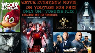 WATCH YOUR FAVOURITE MOVIES ON YOUTUBE FOR FREE..