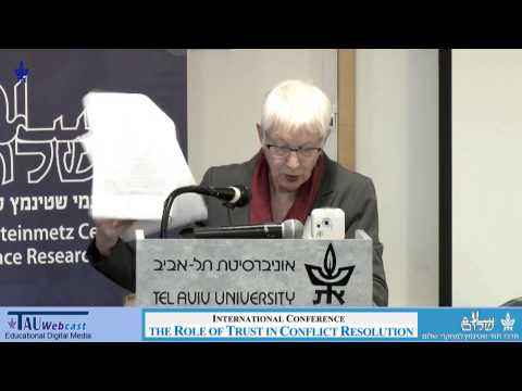 The role of trust in Israeli peace-making