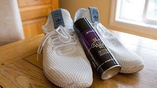 Making Pharrel Williams Hu Tennis Shoe Waterproof (Crep Protect)