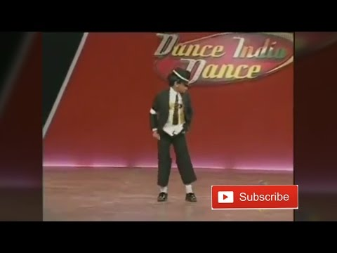 Amazing Little boy dance with Remo - On Michael Jackson's dangerous - Dance India Dance season-2
