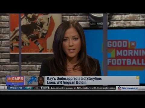 Kay Adams Calls Anquan Boldin the Most Underappreciated Player in the League