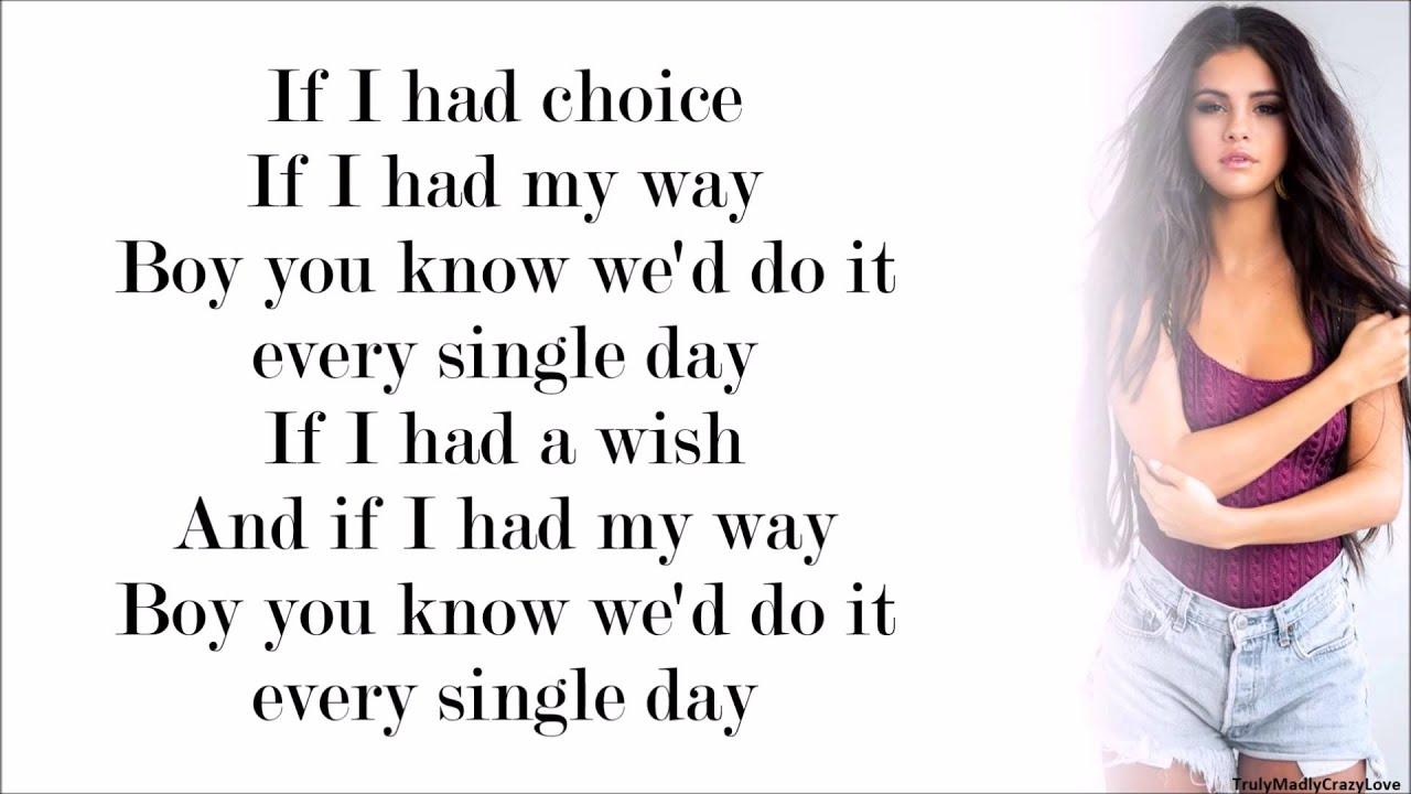 Selena gomez do it with lyrics youtube voltagebd Gallery