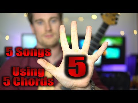 LEARN 5 Songs With 5 CHORDS! Lynyrd Skynyrd, Pink Floyd, Coldplay, Neil Young, Cranberries,