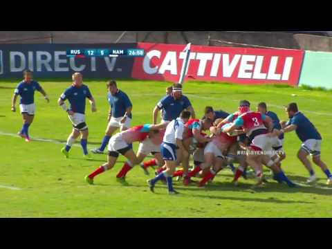 Mens 15s Nations Cup 2017 Russia vs Namibia Highlights