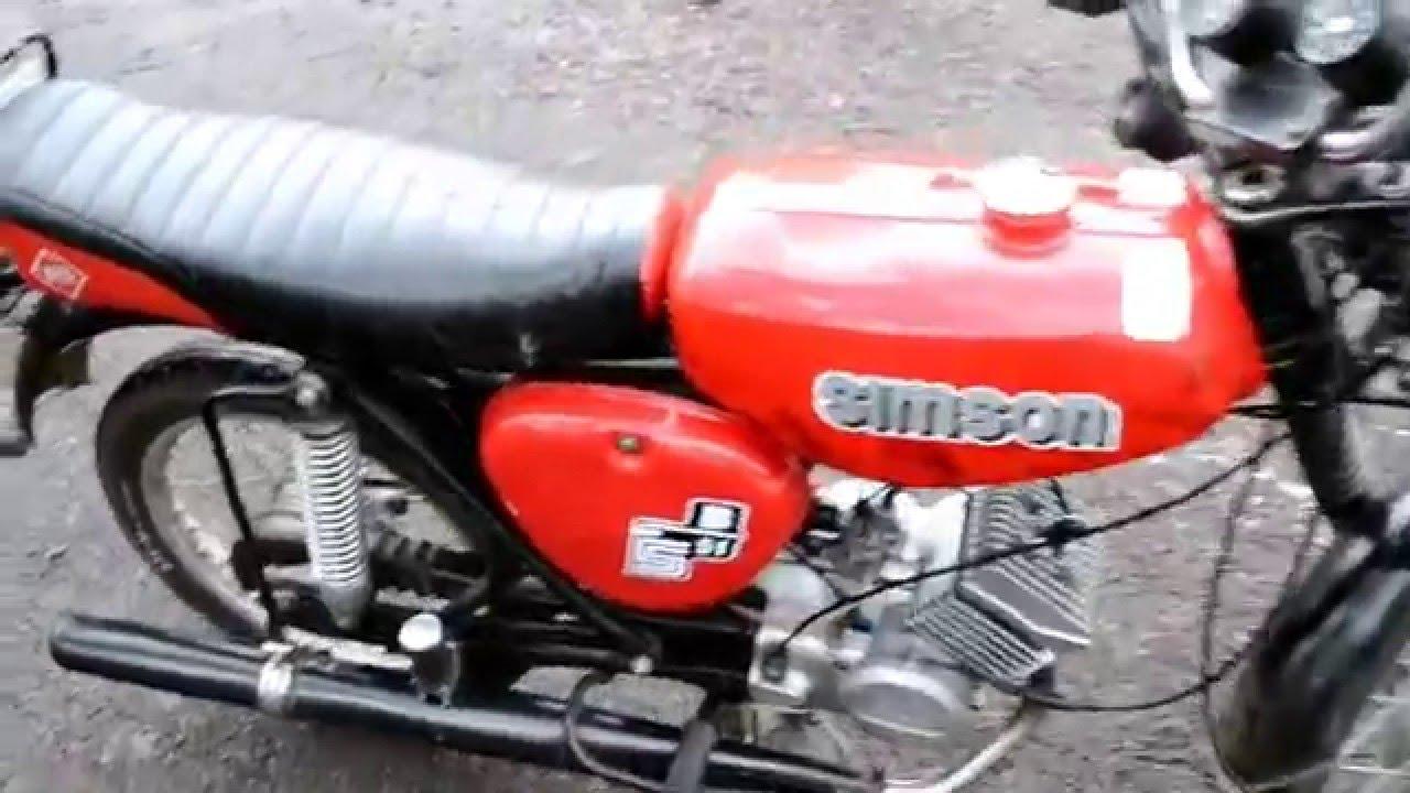 Simon S51 Simson S50 60ccm Testvideo Aus Lüneburg Lass Knattern