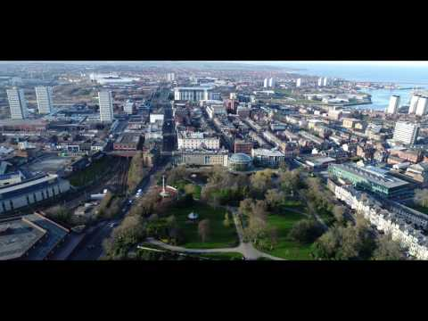 Sunderland Aerial 4K.UK.Open Your Eyes To The Beauty Around You.2017