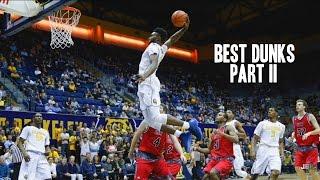Best Dunks of the 2015-16 College Basketball Season || Part II ᴴᴰ