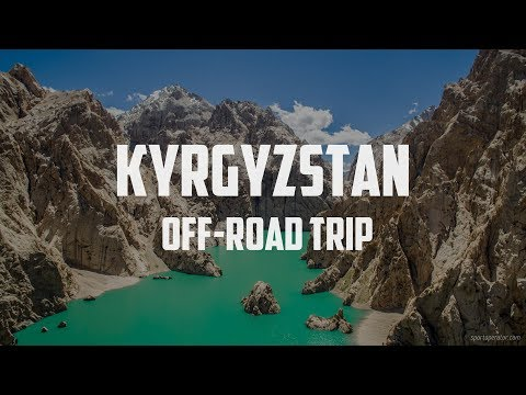 Kelsuu lake off-road adventure - Kyrgyzstan
