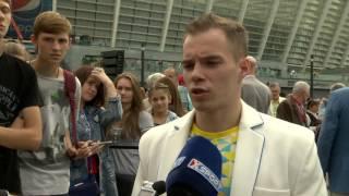 Олег Верняев, Олимпийский чемпион по спортивной гимнастике. Интервью на Олимпийском уроке-2016