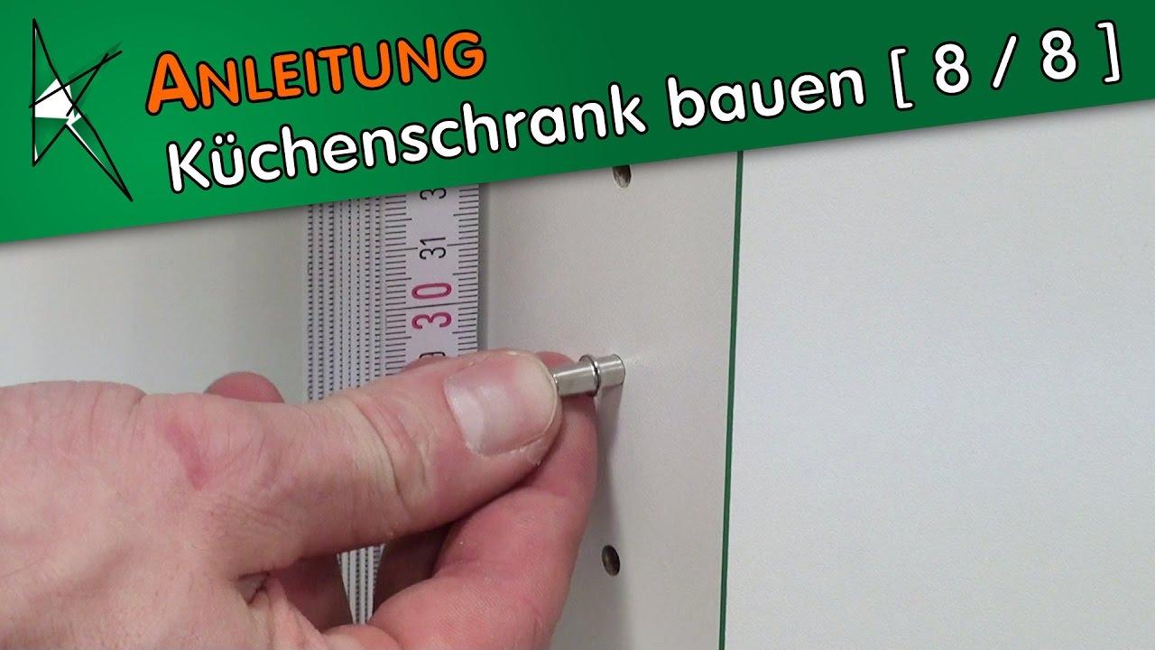 Küchenschrank bauen [ 8 / 8 ] - Bodenträger und Einlegeboden ...