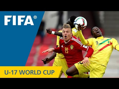 Highlights: Mali v. Belgium - FIFA U17 World Cup Chile 2015