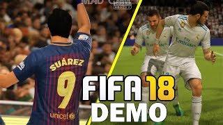 Fifa 18 demo gameplay new celebrations ft. ronaldo,suarez,dybala,bale (xbox one, ps4, pc ) hd 1080p