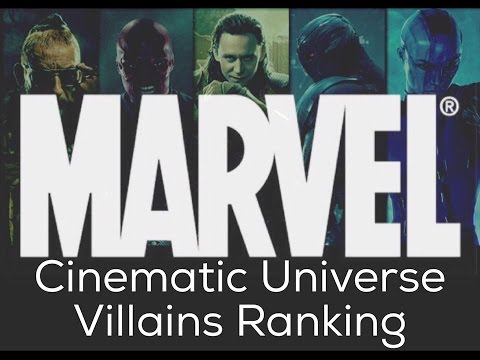 RANKED: MARVEL CINEMATIC UNIVERSE VILLAINS PRE-RANKING DISCUSSION