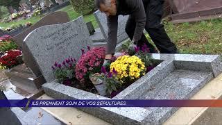 Yvelines | Ils prennent soin de vos sépultures