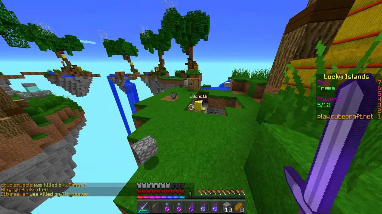 Lucky islands minecraft premium los mejores lucky blocks for Mine craft free demo