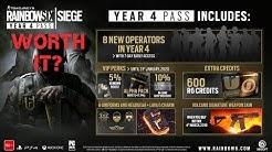 Is the Year 4 Season Pass Worth It? | Rainbow Six Siege