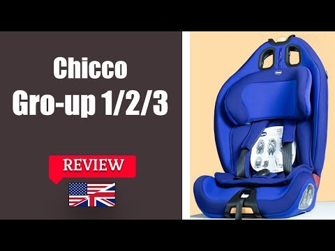 Chicco Gro-up 1 2 3 - Child Car Seat FULL Review