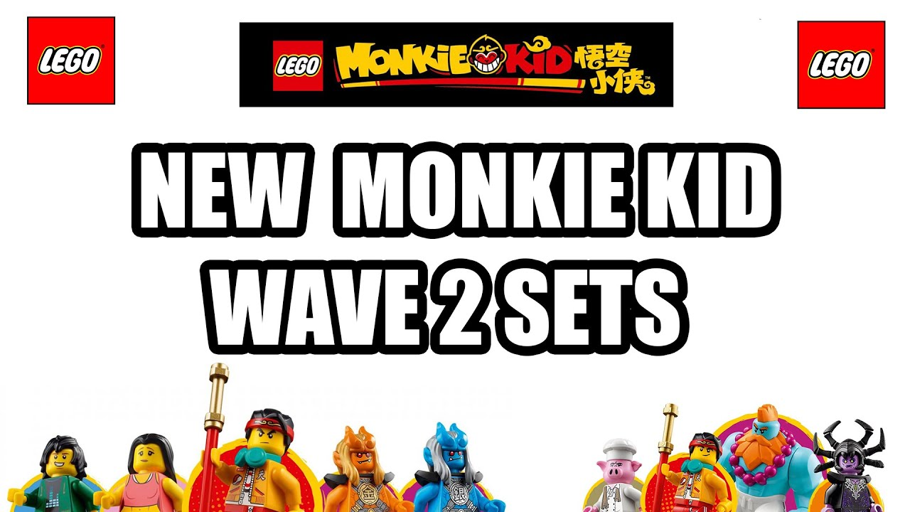 NEW LEGO Monkie Kid Sets - Wave 2 - Official Pictures