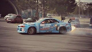 DRIFT Nissan Skyline - FLAME - Jan Baláž - CzechRing - 2016 ► by Berny