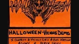 HALLOWEEN Vicious Lies  Demo 1990