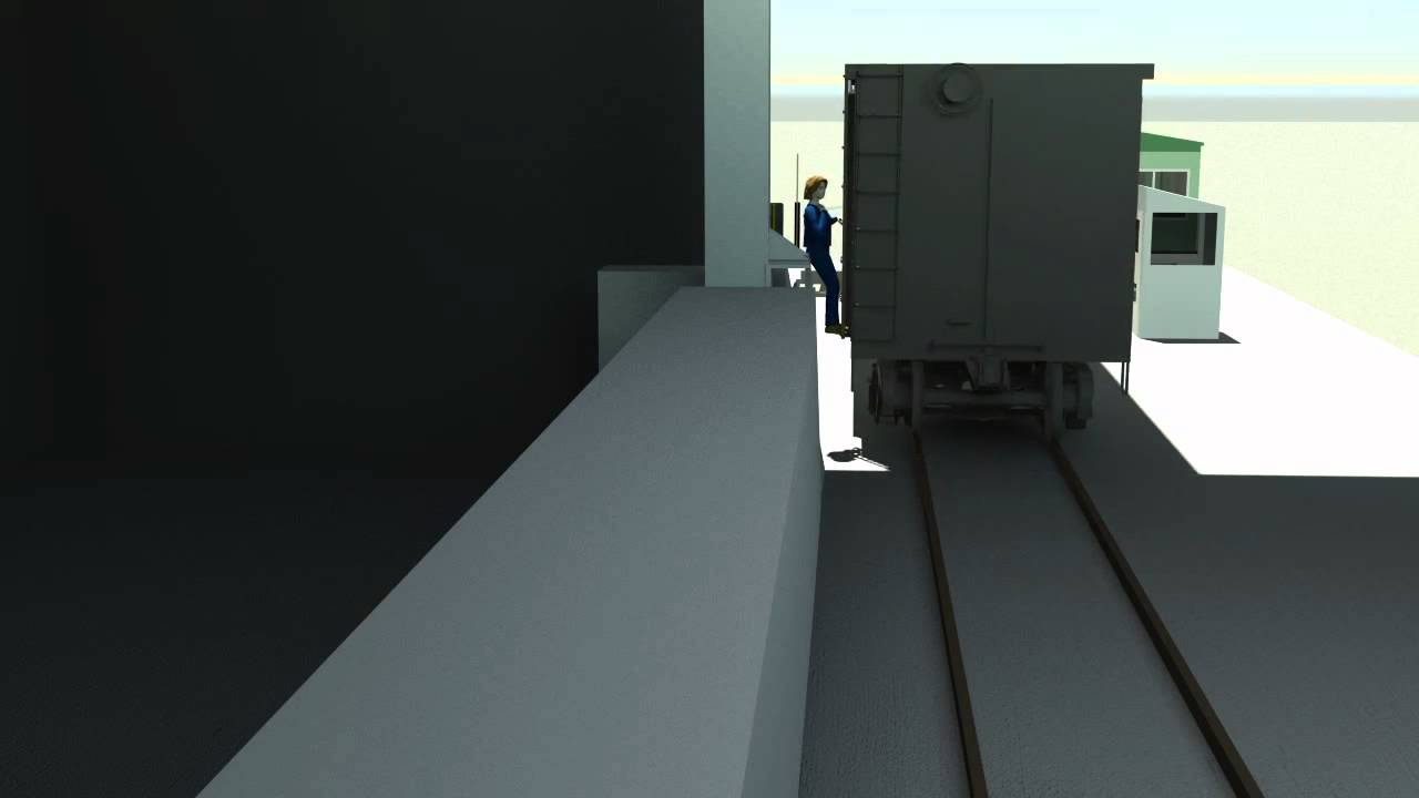 Accident Recreation of Injured Railroad Worker - Animation - YouTube