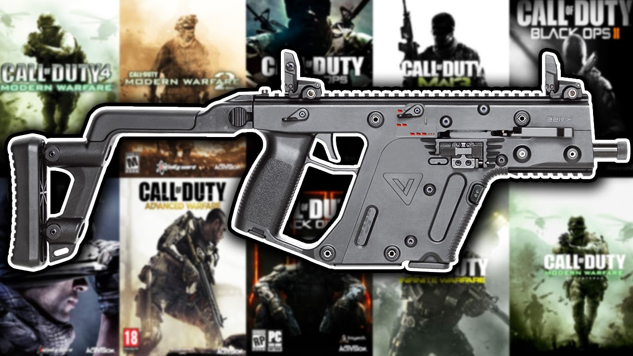 The Evolution Of The Vector In Every Call Of Duty Youtube
