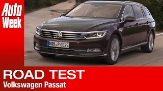 Volkswagen Passat road test - English subtitled