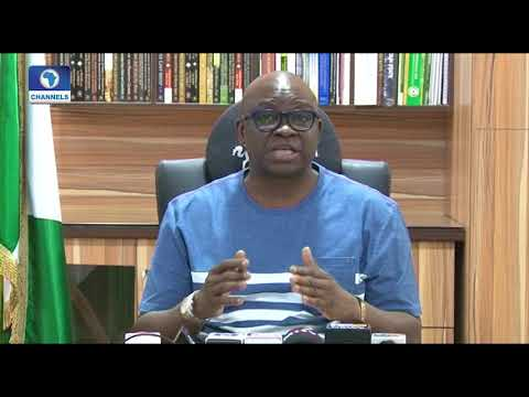 Insurgency War: Fayose Condemns Plan To Spend $1bn From Excess Crude Account