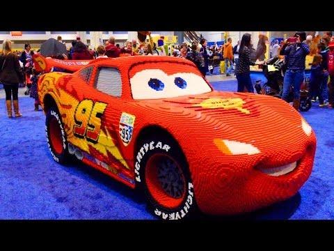 325,000 LEGO Blocks CARS Lightning McQueen 2014 Kidsfest Superman Hulk Batman Disney Pixar