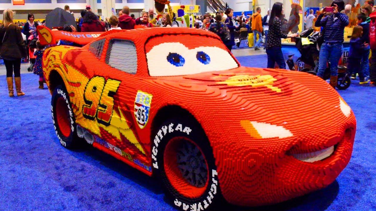 325 000 lego blocks cars lightning mcqueen 2014 kidsfest superman hulk batman disney pixar. Black Bedroom Furniture Sets. Home Design Ideas