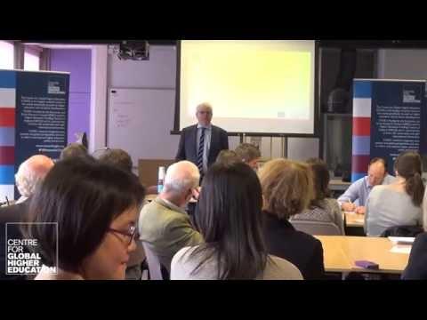 Higher education and the media (CGHE seminar) - Simon Marginson intro
