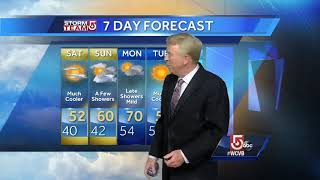 Video: This weekend will feel more like Fall