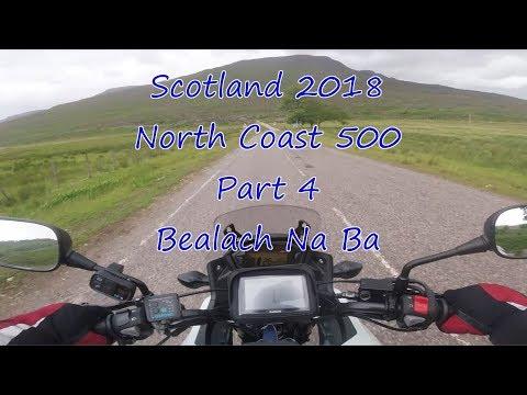 Part 4, Bealach Na Ba To Applecross, Scotland North Coast 500, Honda CB500X