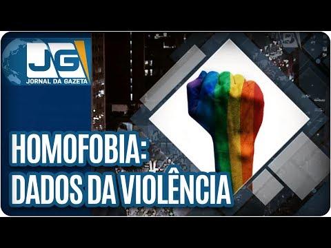 No Dia contra a Homofobia, dados da violência