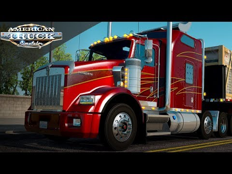 KENWORTH T800 GTM TEAM | LIVE BUILD AND DRIVE  | AMERICAN TRUCK SIMULATOR