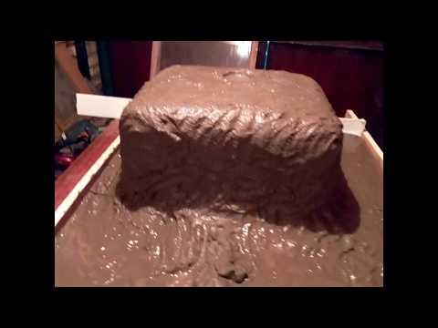 Как сделать из бетона столешницу своими руками . часть 1