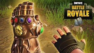 Fortnite W Poszukiwaniu Thanos'a