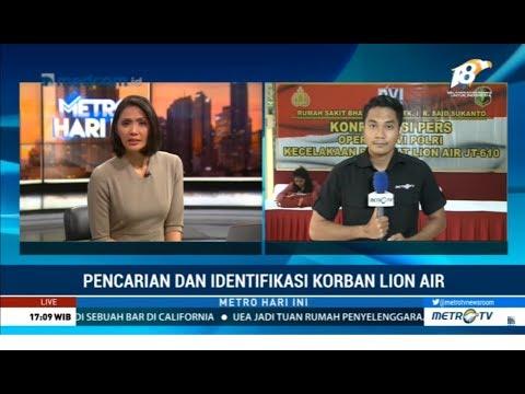 Di Hari ke-11, Total 186 Kantong Jenazah Lion Air Sudah Diterima RS Polri Mp3