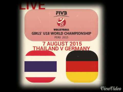 ลิงค์ดูวอลเลย์บอลU18 ไทยVเยอรมนี |7 สิงหาคม 2558