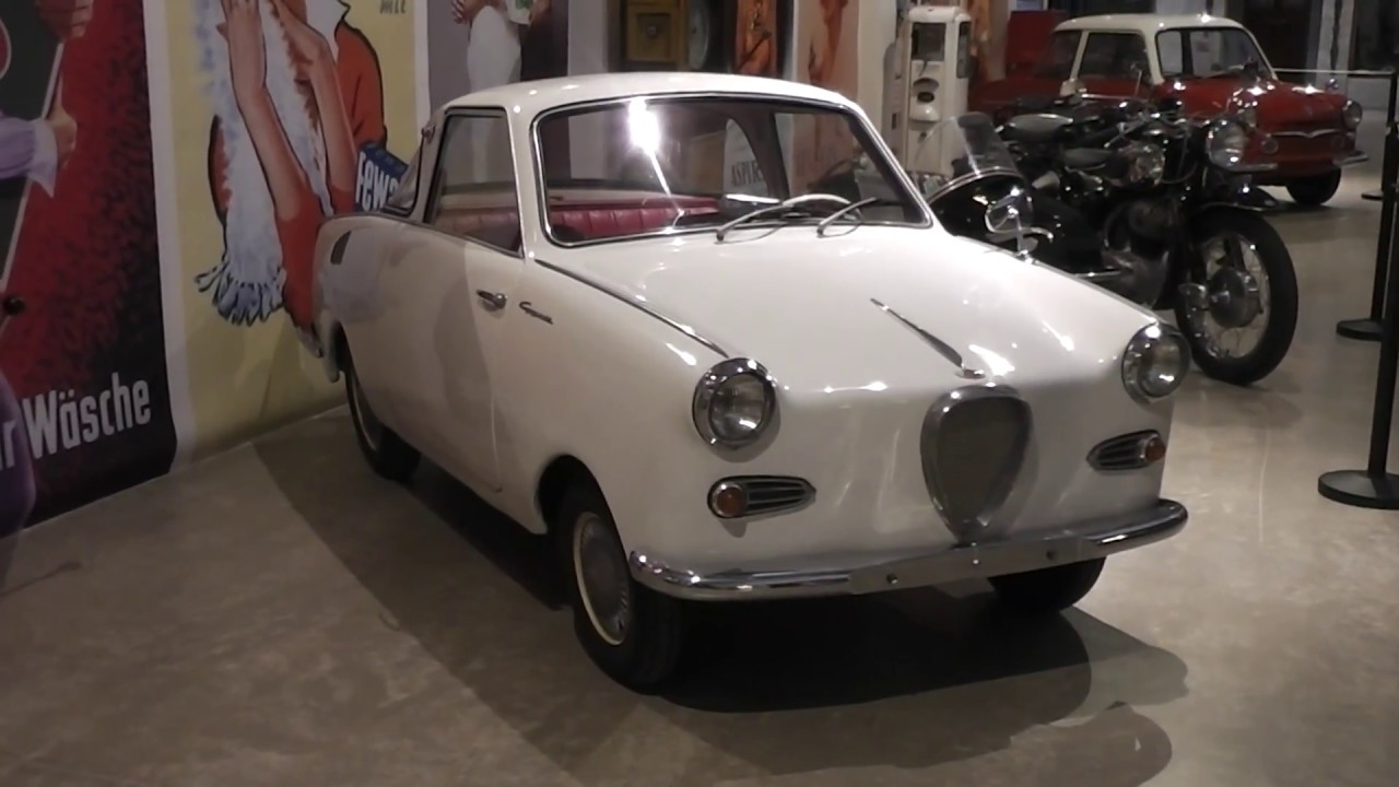 goggomobil t 250 coupe old german car 1955 to 1969 youtube. Black Bedroom Furniture Sets. Home Design Ideas