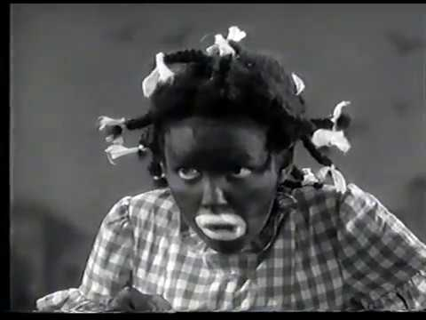 Judy Garland in blackface in