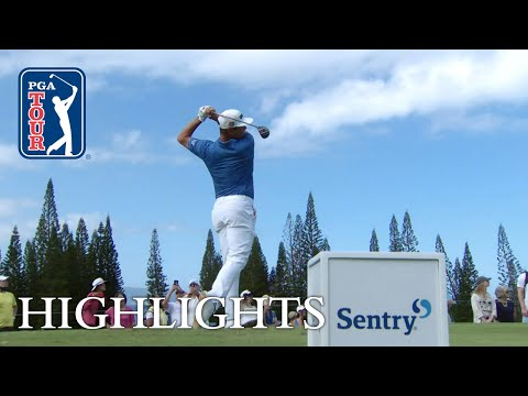 Gary Woodland highlights | Round 4 | Sentry 2019