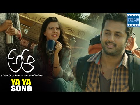 A Aa Movie Ya Ya Song Trailer | Nithiin | Samantha | TFPC