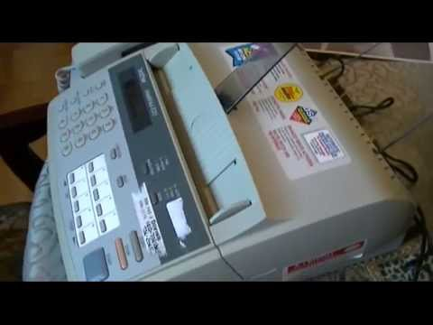 Use Fax Machine As Printer! Put That Old Dial-Up Modem To Use!