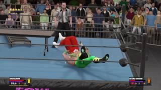 WWE2K17 ECW WRESTLEPALOOZA. ONGKULIMAN VS ULTIMO DRAGON. WWE TITLE MATCH