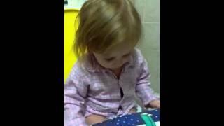 רק בת שנתיים וכבר קוראת thumbnail